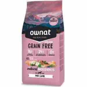 ownat prime grain free mini cordero