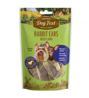orejas de conejo con cordero peq