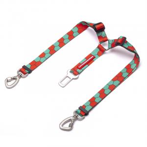 enganche doble cinturon de seguridad perros